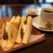 名古屋伏見『珈琲処カラス』孤独のグルメで紹介された「あんトースト」モーニング!